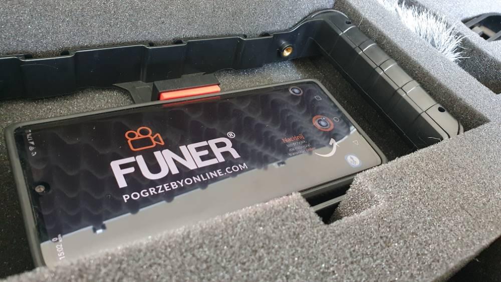Funer - transmisja pogrzebu